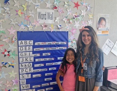 Michelle and Gaby - Reading Partners Los Angeles