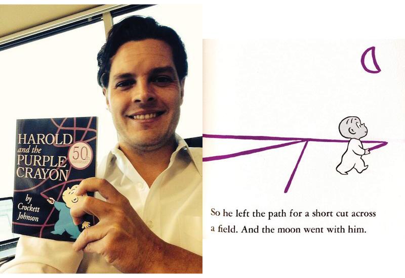 Harrold and the Purple Crayon