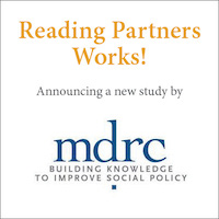 New Study Shows that Reading Partners' Program Boosts Reading Proficiency
