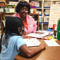 Twice a cancer survivor, this volunteer finds strength in tutoring students