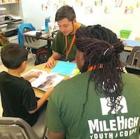 Collaborative Community Service: Helping kids learn to read in Colorado