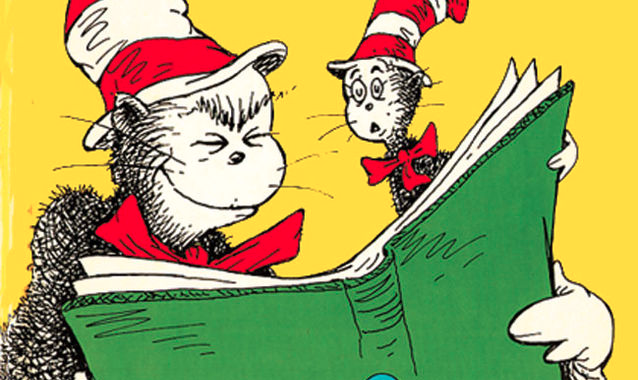Dr. Seuss illustration from I Can Read With My Eyes Shut