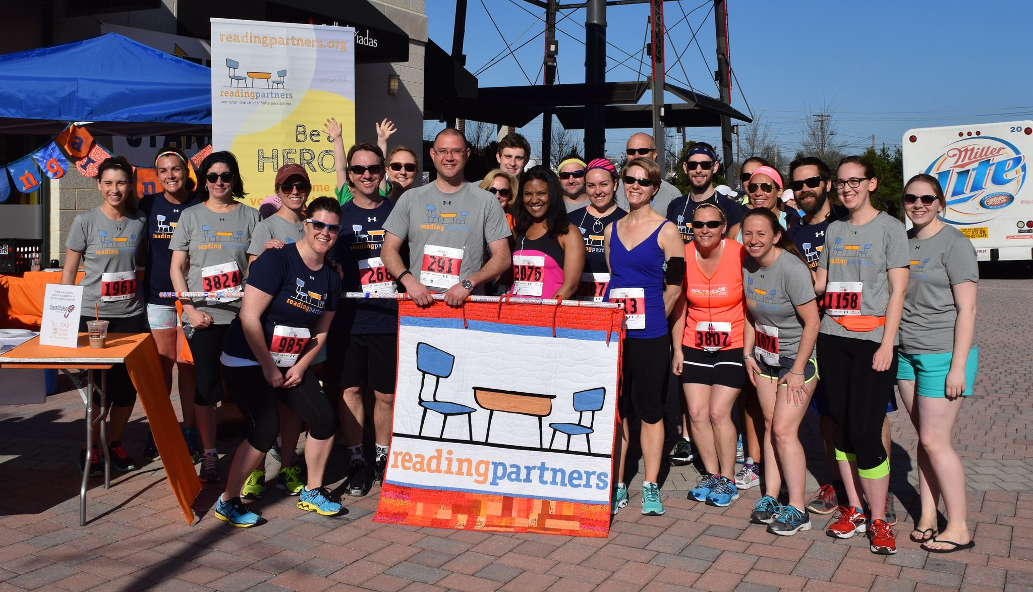 Run for Reading Partners in Baltimore