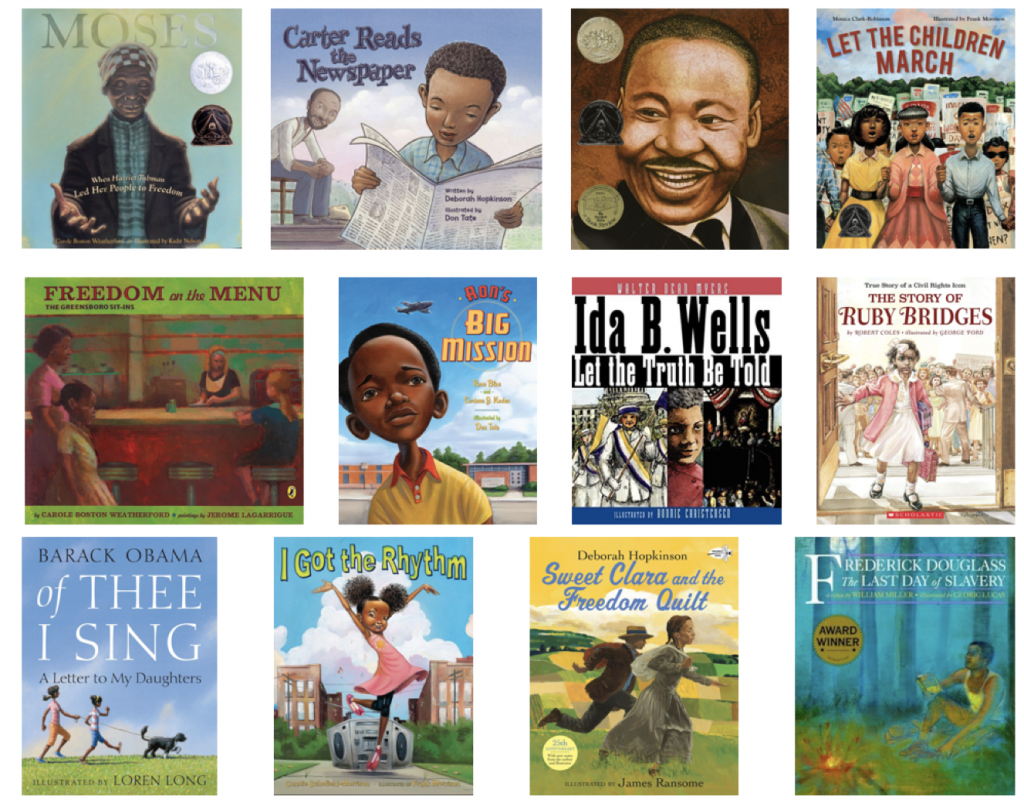 black history month book list